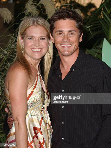 Melissa Reeves and Billy Warlock during 2005 NBC Network All Star Celebration at Century Club in Century City California United States