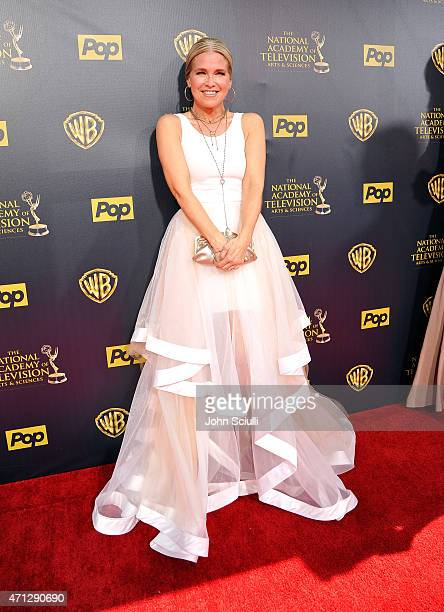 Melissa Reeves attends The 42nd Annual Daytime Emmy Awards at Warner Bros Studios on April 26 2015 in Burbank California
