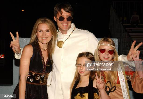 Melissa Reeves Matthew Ashford and daughters during NBC's Days of Our Lives 40th Anniversary Celebration at Hollywood Palladium in Hollywood...
