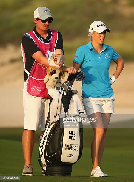 Melissa Reid of England looks on during the first round of the Fatima Bint Mubarak Ladies Open at Saadiyat Beach Golf Club on November 2 2016 in Abu...