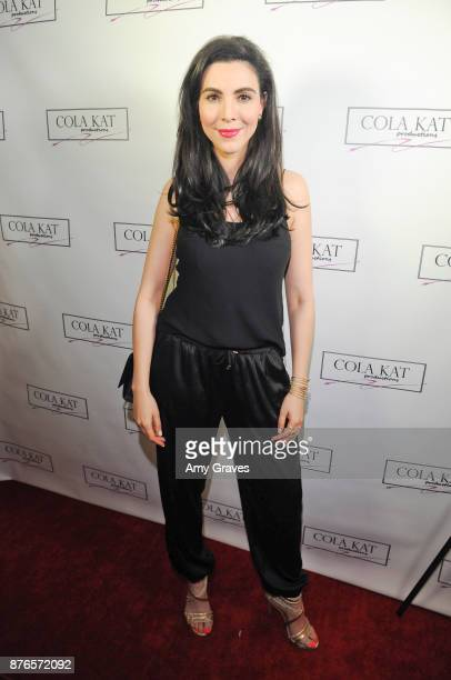 Melissa Ricci attends the Who Is Billy Bones TV Premiere Event on November 19 2017 in Beverly Hills California