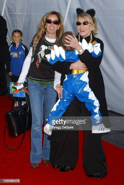 Melissa Rivers and Joan Rivers during 2004 Dream Halloween Fundraiser For Children Affected by AIDS Foundation at Barker Hangar in Santa Monica...