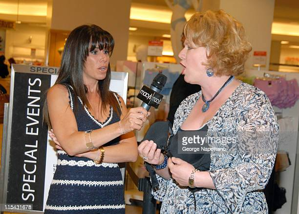 Melissa Rivers and Karey Weyenberg during Melissa Rivers Launches the Fashion Forms Cleavacious Bra at Macy's Herald Square in New York City at...