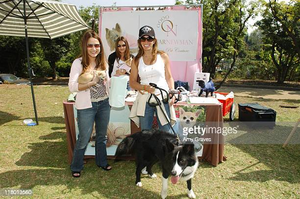 Melissa Rivers and Mike at Oscar Newman during Silver Spoon Dog and Baby Buffet Day 2 at Private Residence in Los Angeles California United States...
