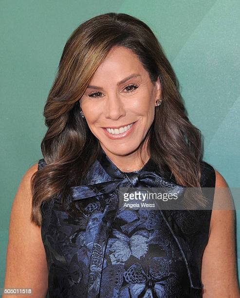 Melissa Rivers arrives at the 2016 Winter TCA Tour - NBCUniversal Press Tour Day 2 at Langham Hotel on January 14, 2016 in Pasadena, California.