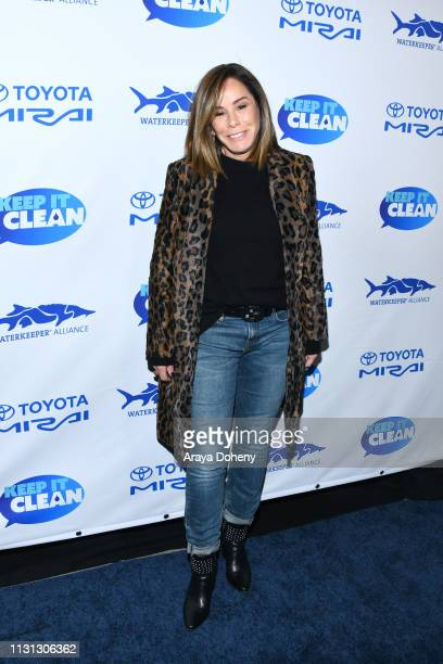 Melissa Rivers at 5th Annual Keep It Clean Live Comedy Benefit For Waterkeeper Alliance at Largo At The Coronet on February 21 2019 in Los Angeles...