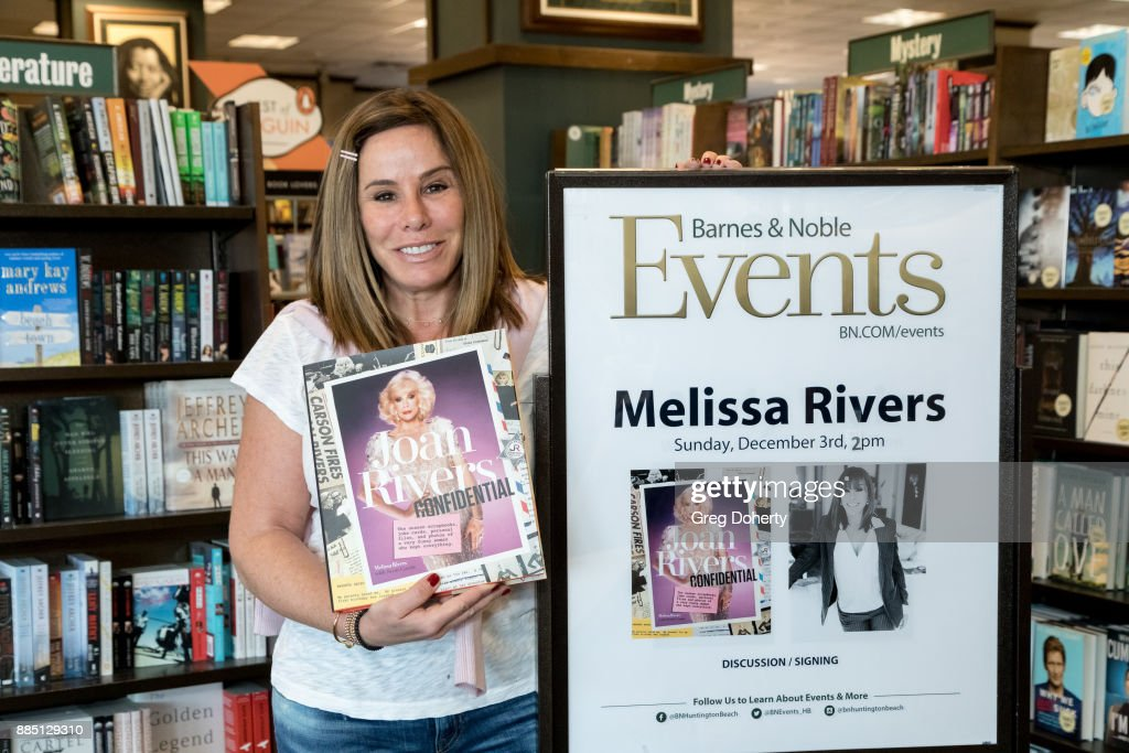"Melissa Rivers Book Signing For ""Joan Rivers Confidential"""