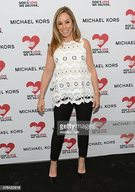 Melissa Rivers attends the celebration of God's Love We Deliver returning to Soho with a dedication of the new Michael Kors building on June 9 2015...