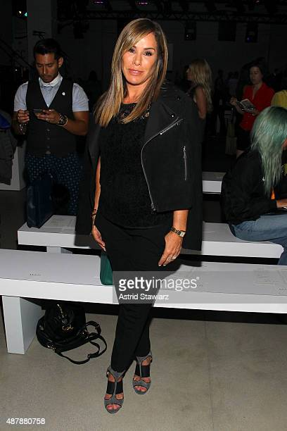 Melissa Rivers attends the Rebecca Minkoff Runway Show SS 16 with TRESemme at The Gallery, Skylight at Clarkson Sq on September 12, 2015 in New York...
