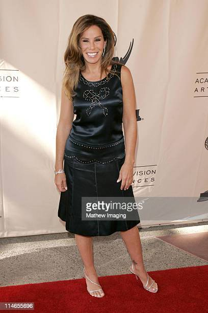Melissa Rivers during 57th Annual Los Angeles Area Emmy Awards Arrivals Reception at Leonard H Goldenson Theatre in North Hollywood California United...