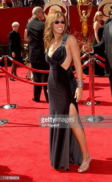 Melissa Rivers during 57th Annual Primetime Emmy Awards - Arrivals at The Shrine in Los Angeles, California, United States.