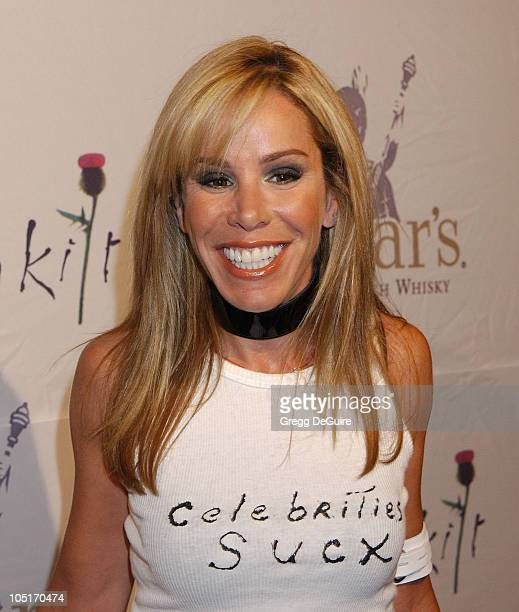 Melissa Rivers during Celebrities Bare Legs For Dewar's Dressed To Kilt Charity Event Arrivals at Wiltern Theatre in Los Angeles California United...