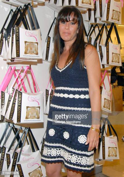 Melissa Rivers during Melissa Rivers Launches the Fashion Forms Cleavacious Bra at Macy's Herald Square in New York City at Macy's Herald Square in...
