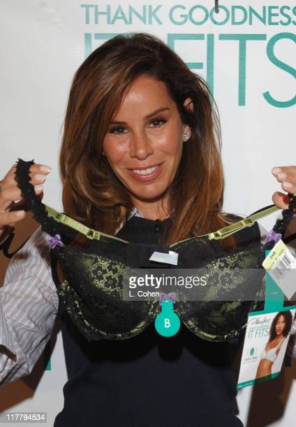 Melissa Rivers during Melissa Rivers Treats her Friends to a Playtex Thank Goodness It Fits Bra at L'Ermitage Raffles in Beverly Hills California...