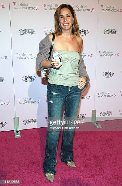 Melissa Rivers during T-Mobile Limited Edition Sidekick II Launch - Arrivals at T-Mobile Sidekick II City in Los Angeles, California, United States.