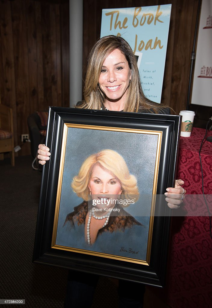 "Melissa Rivers Signs Copies Of Her Book ""The Book of Joan: Tales Of Mirth, Mischief, And Manipulation"" : News Photo"