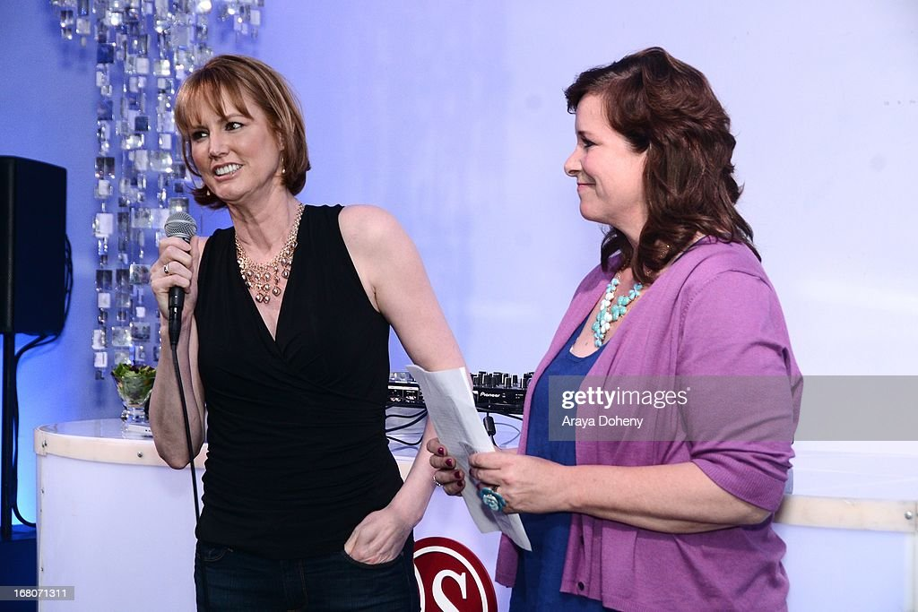 Melissa Rosenberg and Dana Baratta attend the 'Dancing For NED' benefit for the Cedars Sinai Women's Cancer Program on May 4, 2013 in Los Angeles, California.