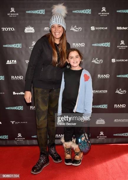 Melissa Rosenberg and Skylar Rosenberg attend the Gamechanger Films reception at the RAND Luxury Escape during the 2018 Sundance Film Festival at The...