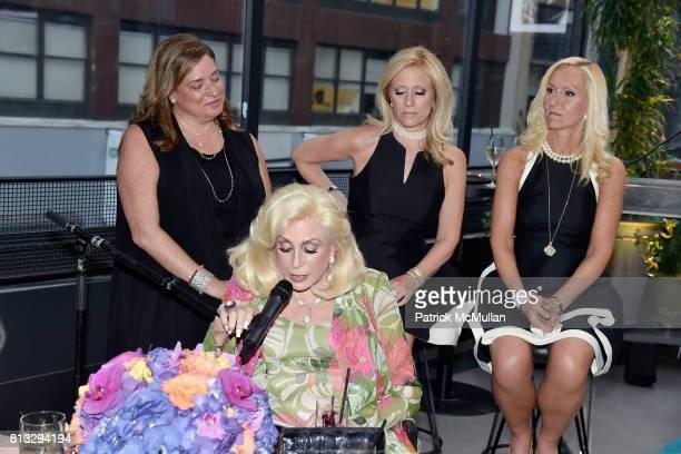 Melissa Rosenbloom Harriette Rose Katz Claudia Warner and Trisha Stern attend The Chosen Few's Third Anniversary Hosted by Harriette Rose Katz at...