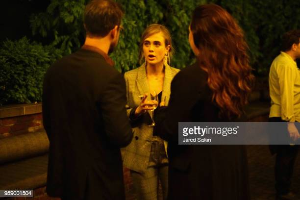 Melissa Roxburgh and guests attend the Gersh Upfronts Party 2018 at The Bowery Hotel on May 15 2018 in New York City