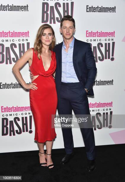 Melissa Roxburgh and Josh Dallas attends Entertainment Weekly's ComicCon Bash held at FLOAT Hard Rock Hotel San Diego on July 21 2018 in San Diego...