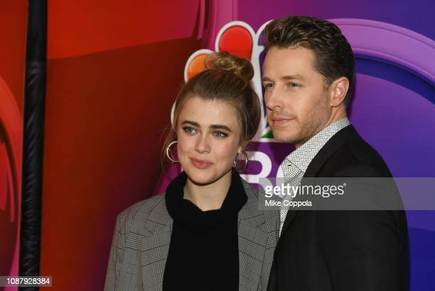Melissa Roxburgh and Josh Dallas attends NBC's New York Mid Season Press Junket at Four Seasons Hotel New York on January 24 2019 in New York City