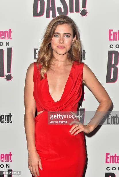Melissa Roxburgh attends Entertainment Weekly's ComicCon Bash held at FLOAT Hard Rock Hotel San Diego on July 21 2018 in San Diego California...