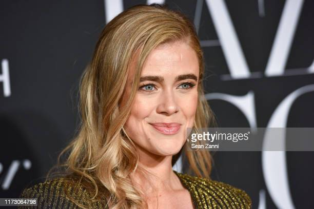 Melissa Roxburgh attends Harper's BAZAAR Celebrates ICONS By Carine Roitfeld Presented By Cartier at The Plaza Hotel on September 06 2019 in New York...