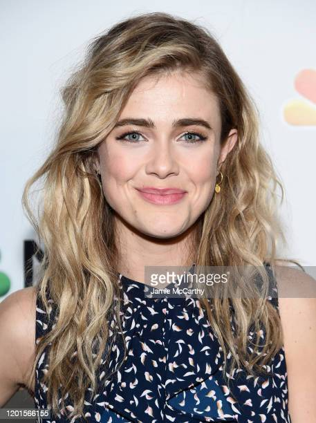 Melissa Roxburgh attends NBC and The Cinema Society host a party For the casts of NBC Midseason 2020 at The Rainbow Room on January 23, 2020 in New...