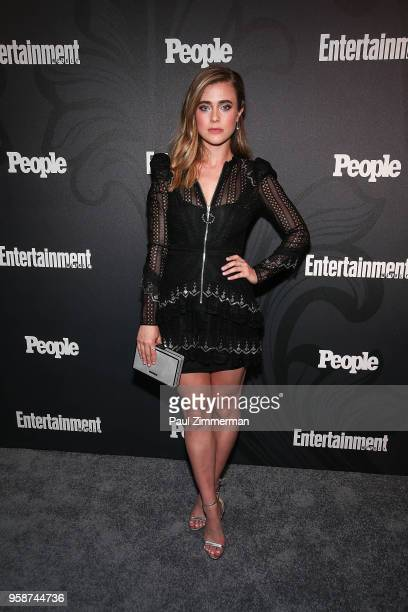 Melissa Roxburgh attends the 2018 Entertainment Weekly PEOPLE Upfront at The Bowery Hotel on May 14 2018 in New York City