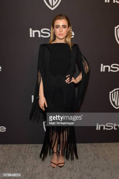 Melissa Roxburgh attends the 2019 InStyle and Warner Bros 76th Annual Golden Globe Awards PostParty at The Beverly Hilton Hotel on January 6 2019 in...