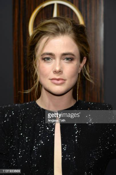Melissa Roxburgh attends the MercedesBenz USA's Oscars viewing party at Four Seasons Hotel Los Angeles at Beverly Hills on February 24 2019 in Los...