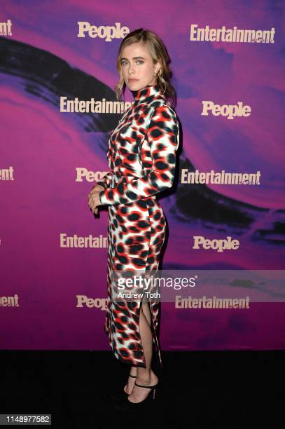 Melissa Roxburgh attends the People Entertainment Weekly 2019 Upfronts at Union Park on May 13 2019 in New York City