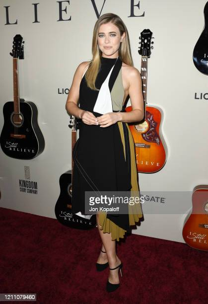 Melissa Roxburgh attends the premiere of Lionsgate's I Still Believe at ArcLight Hollywood on March 07 2020 in Hollywood California