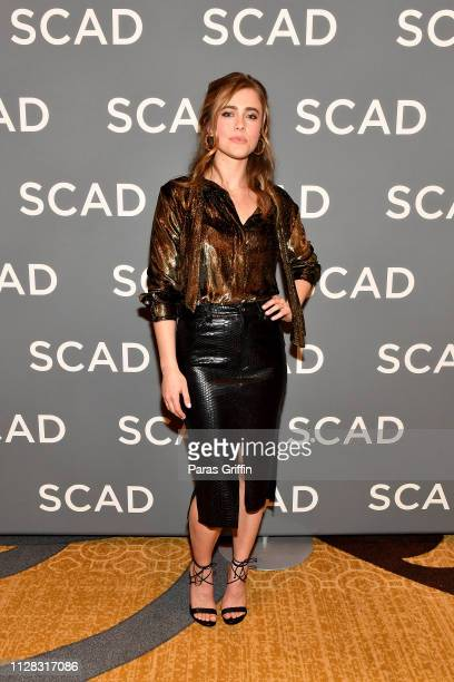Melissa Roxburgh attends the 'Wonder Women: Acting For Television' press junket during SCAD aTVfest 2019 at Four Seasons Hotel on February 08, 2019...