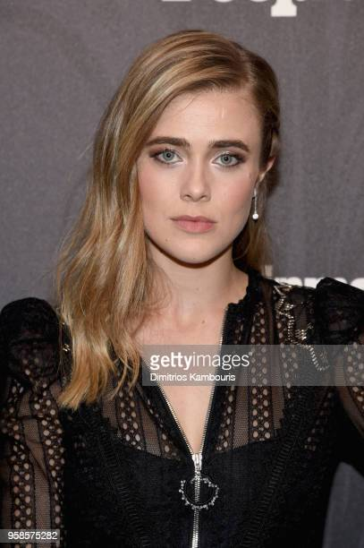 Melissa Roxburgh of Manifest attends Entertainment Weekly PEOPLE New York Upfronts celebration at The Bowery Hotel on May 14 2018 in New York City