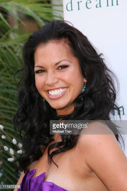 Melissa Rycroft attends the launch event for the 'Heavenly Enchanted' fragrance held at Victoria's Secret store at The Grove on August 26 2009 in Los...