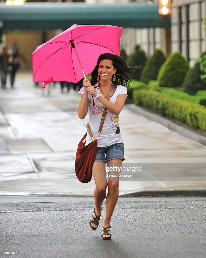Melissa Rycroft sighting on 5th Ave on April 22, 2010 in New York City.