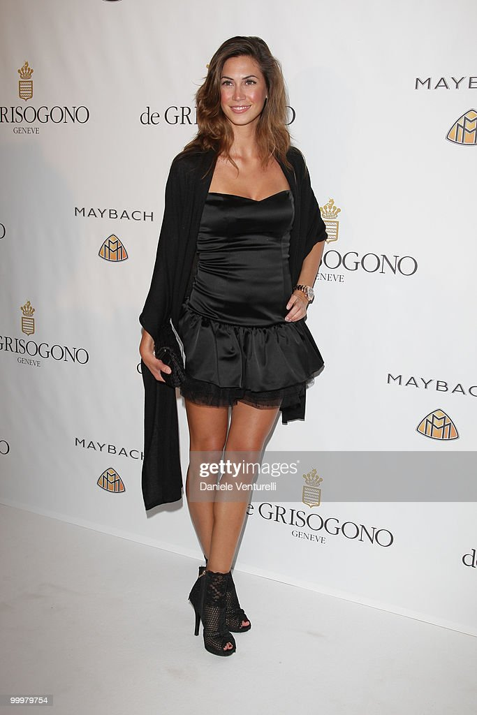 Melissa Satta attends the de Grisogono party at the Hotel Du Cap on May 18, 2010 in Cap D'Antibes, France.
