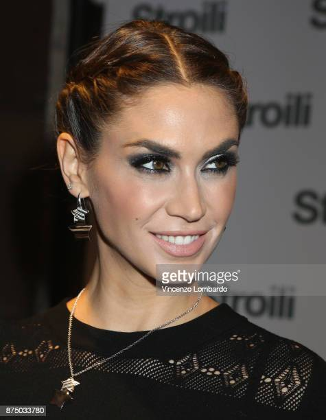 Melissa Satta attends the Stroili Christmas Party on November 16 2017 in Milan Italy