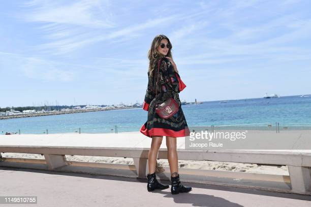 Melissa Satta is seen during the 72nd annual Cannes Film Festival at on May 16 2019 in Cannes France