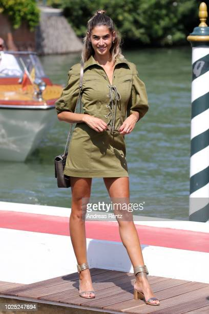 Melissa Satta is seen during the 75th Venice Film Festival on August 30 2018 in Venice Italy