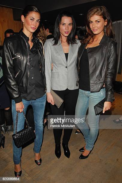 Melissa Satta Loran Thabanol and Angela Martini attend VANITY FAIR CELEBRATES THE ST JOHN FALL CAMPAIGN PHOTOGRPAHED BY MARK SELIGER at 401 Projects...