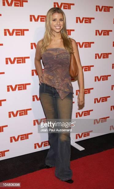 Melissa Schuman during Ivar Nightclub Grand Opening Party at Ivar Nightclub in Hollywood California United States