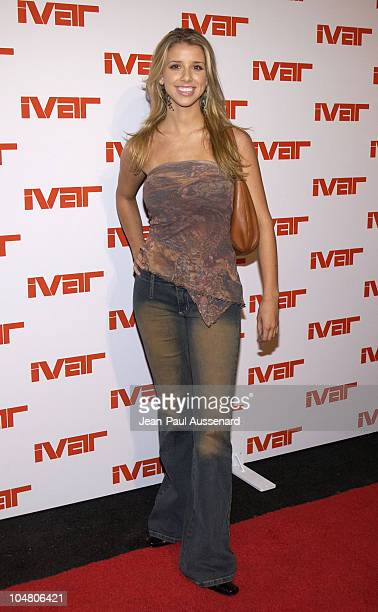 Melissa Schuman during Ivar Nightclub Grand Opening Party at Ivar Nightclub in Hollywood California United States