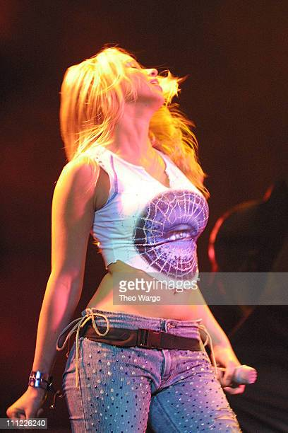 Melissa Schuman of Dream during Opening of MTV's 'TRL' Tour at Pepsi Arena July 18 2001 at Pepsi Arena in Albany New York United States