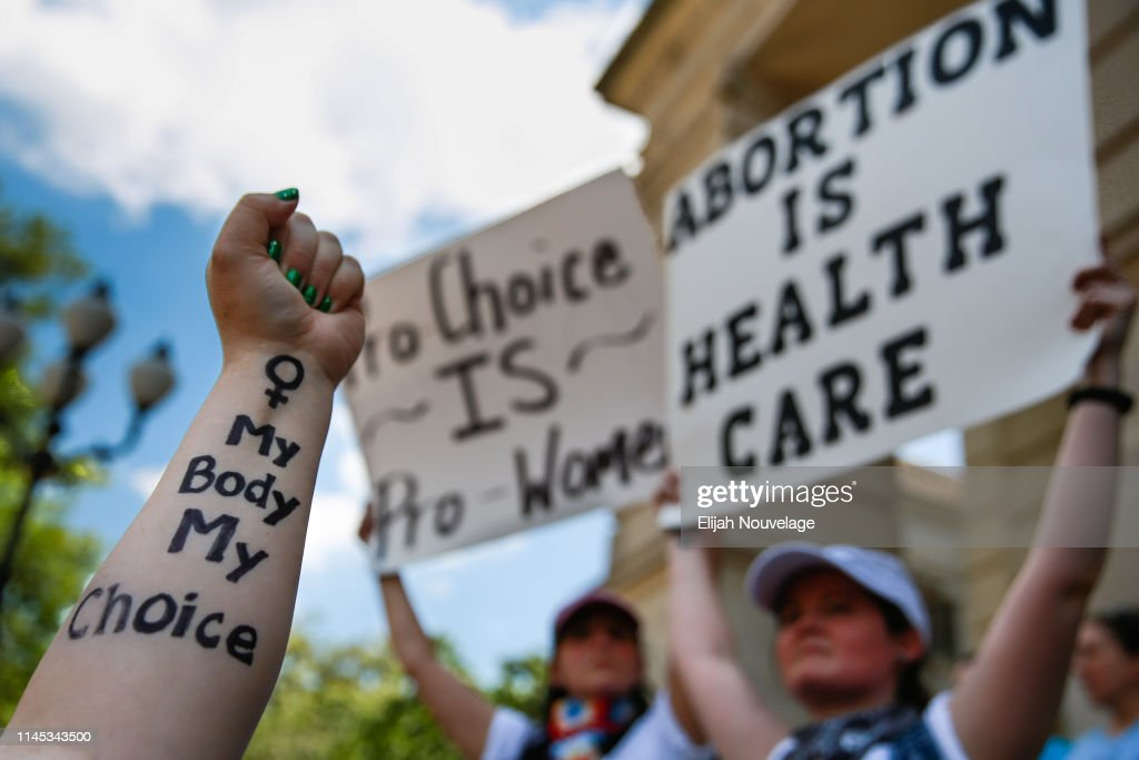 Rallies Across U.S. Protest New Restrictive Abortion Laws : News Photo
