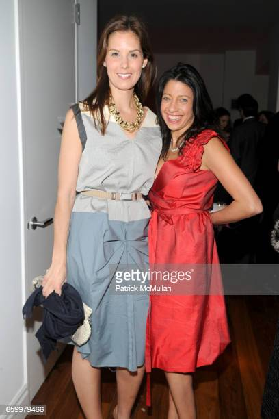 Melissa Skoog and Lisa Anastos attend AMERICAN FRIENDS OF THE LOUVRE's Young Patrons Circle Soiree au Louvre 2009 at The Centurion on May 20 2009 in...