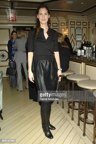 Melissa Skoog attends AKRIS Hosts NEW YORK PRESBYTERIAN HOSPITAL COMMITTEE Brunch at BERGDORF GOODMAN at Bergdorf Goodman on February 24 2009 in New...