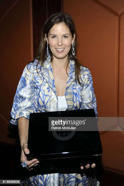 Melissa Skoog attends Creative Time Annual Benefit honoring Andrea Marc Glimcher at Jing Fong on May 19 2010 in New York City